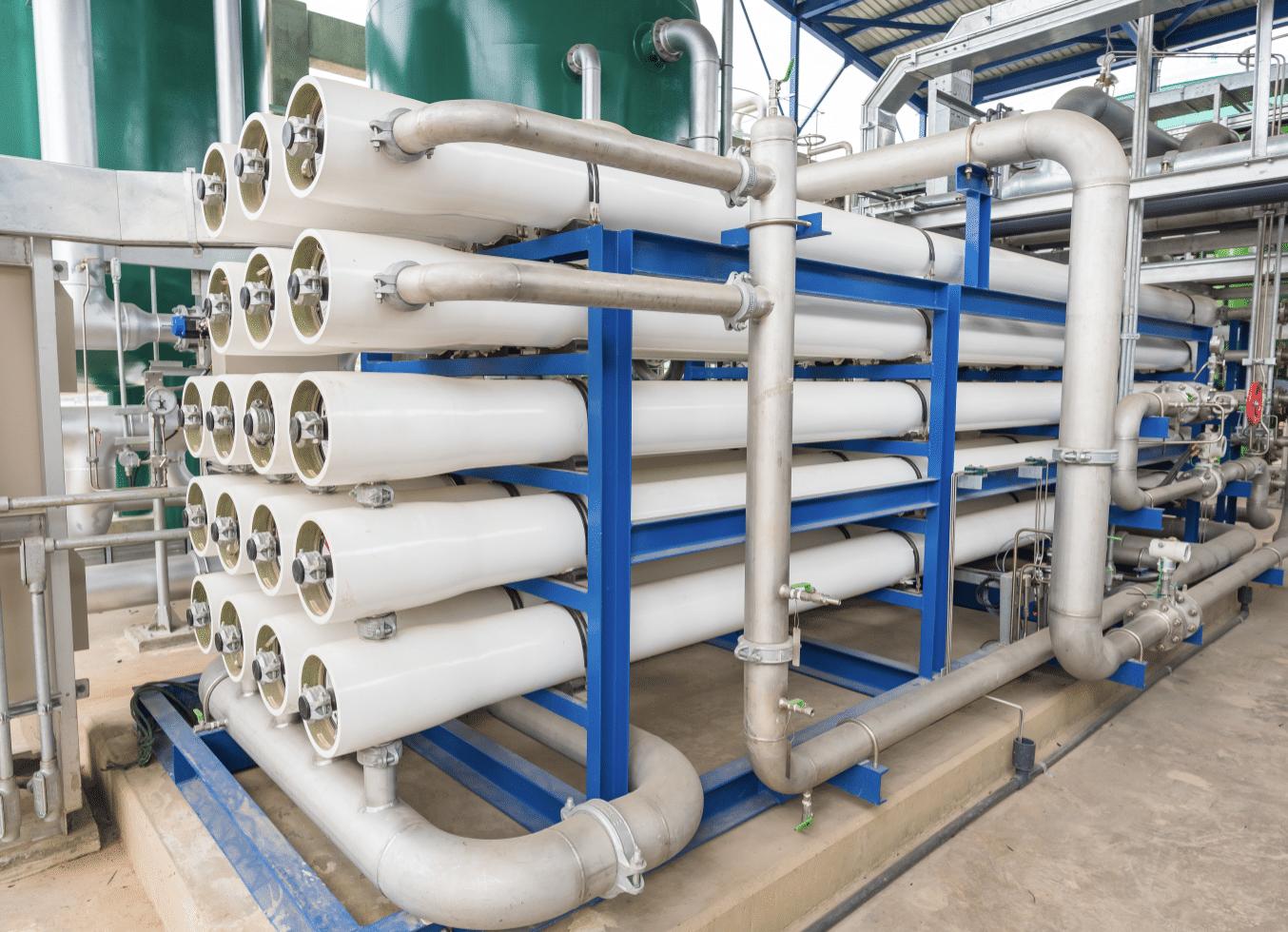 Desalination filtration