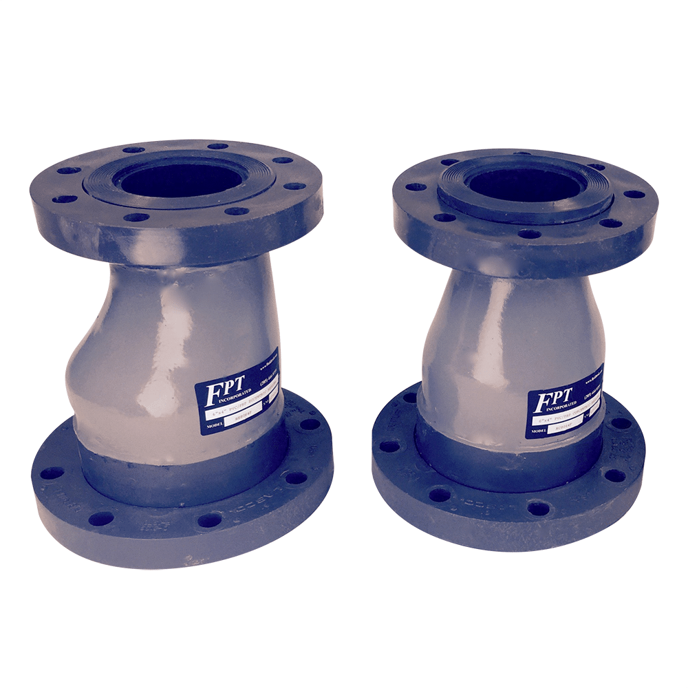 FRP Fiberglass Reducers used in commercial pools, zoos, aquariums, and industrial applications
