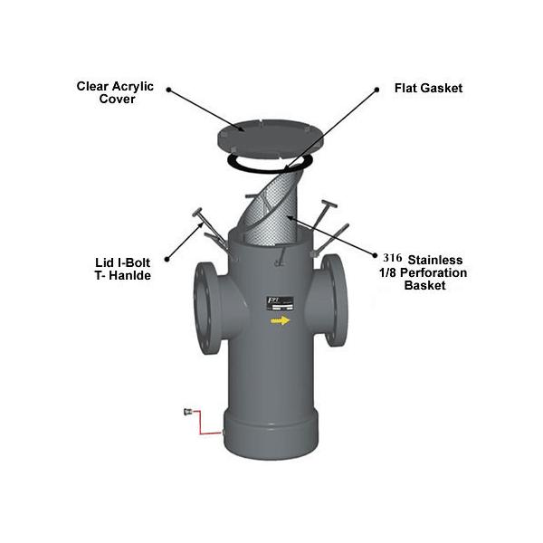 Strainer Gasket Diagram