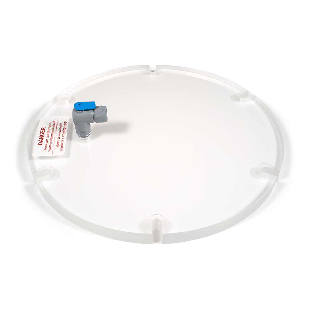 Acrylic Lid with Side Vent